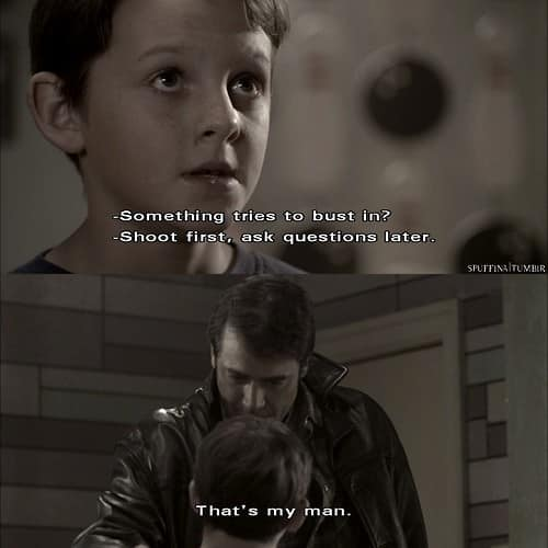 something wicked kid dean and john winchester 1x18