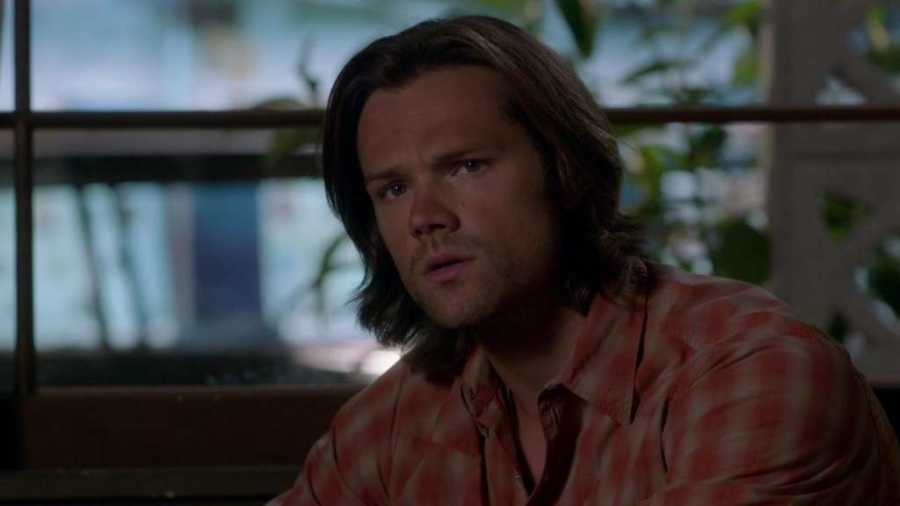 Sam questioning look 8x07