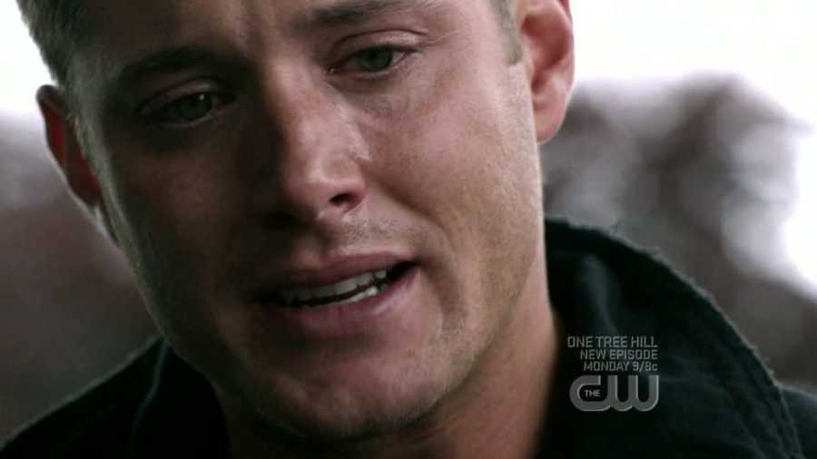 dean cries about hell