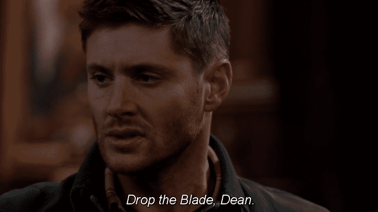 angry dean winchester