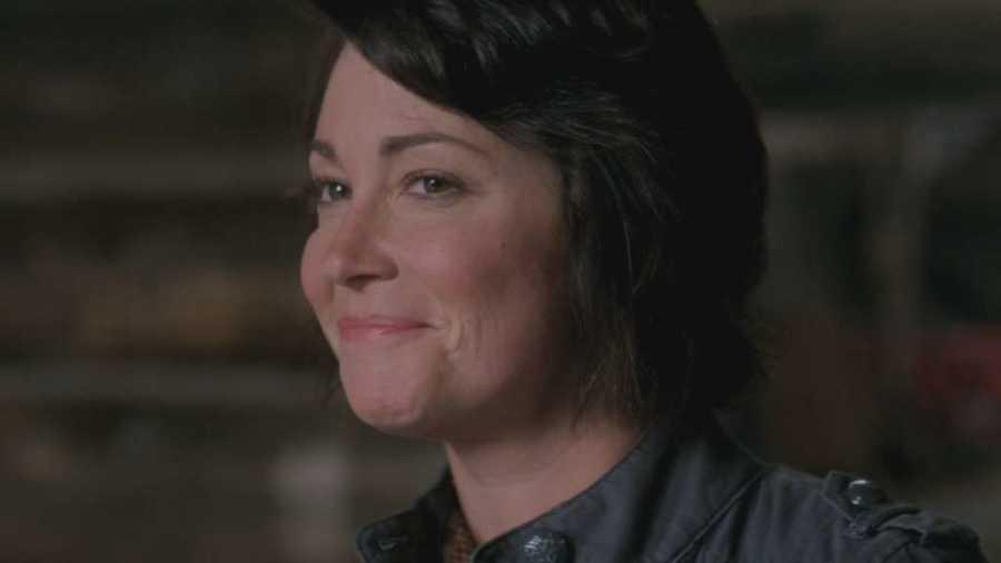12 - Jodie grins