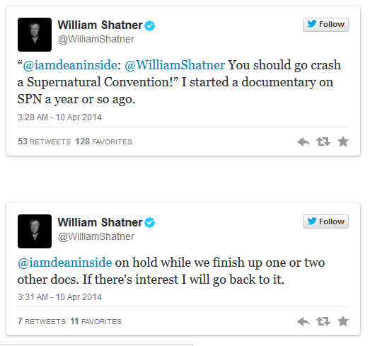 William-Shatner-a supernatural fan