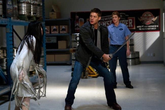 7x18 Party On, Garth supernatural