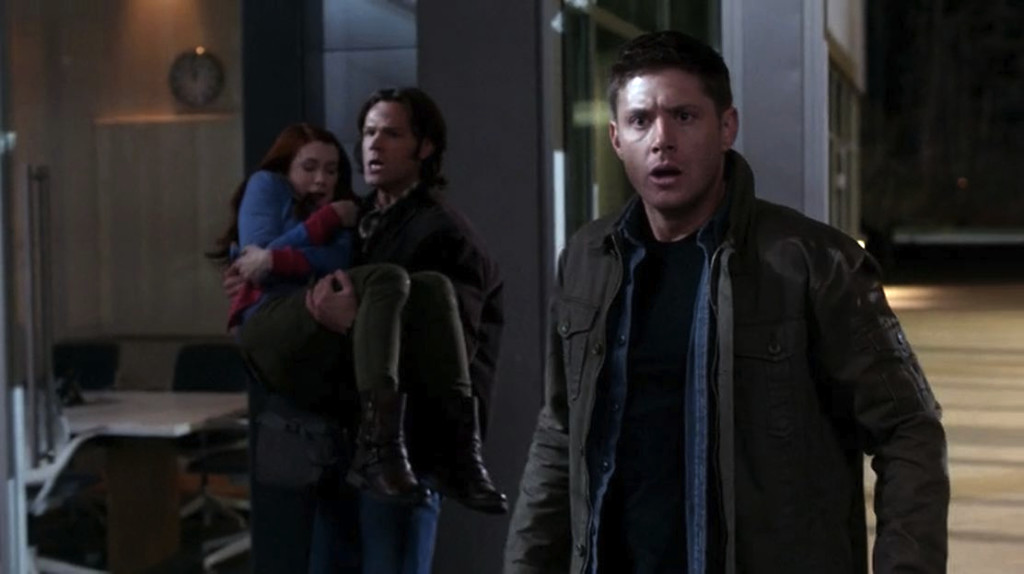 Supernatural S07E20 charlie winchesters