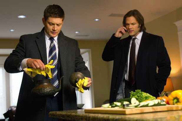supernatural 7x16 Out with the Old