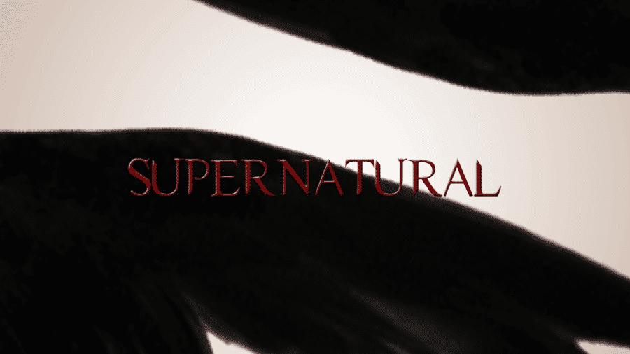 supernatural season 4 logo opening card