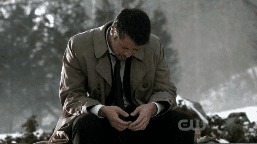 6x21 castiel praying to god