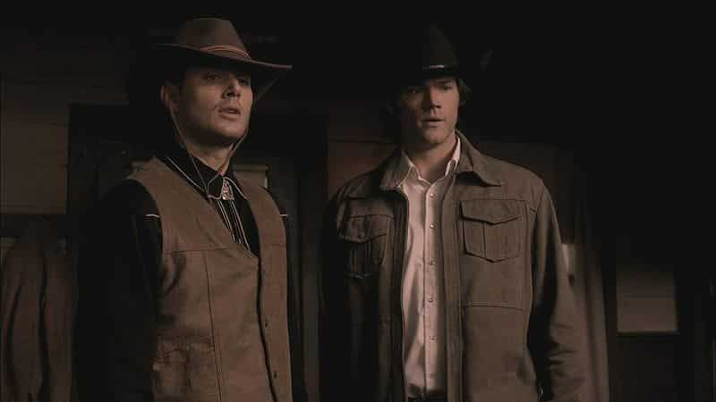 Winchesters Cowboys disguise 6x18 Frontierland