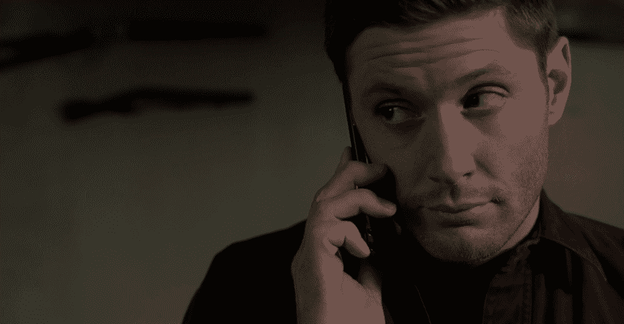 dean funny expression phone
