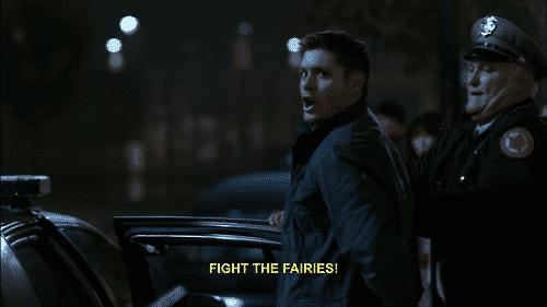 6x09 dean fight the fairies