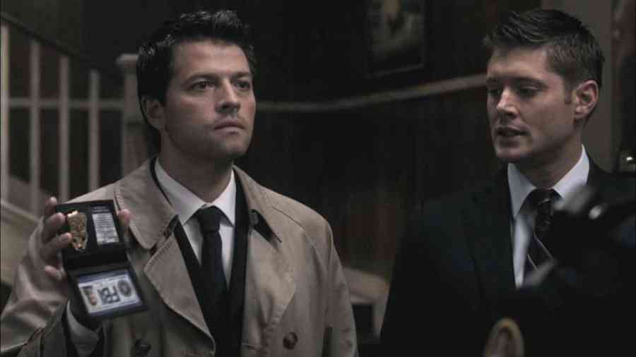 Castiel fbi badge