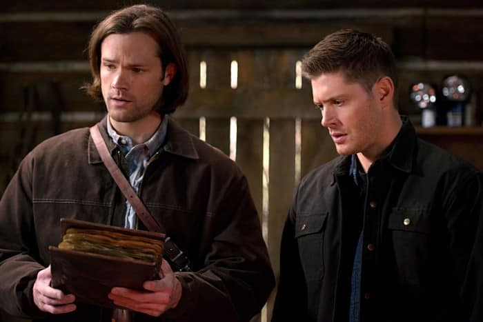 Book of the Damned 10x18 sam dean