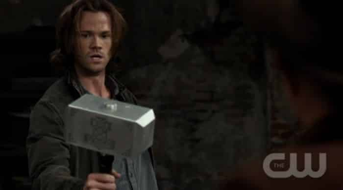8x02 What's Up, Tiger Mommy? Sam Thor Mjölnir