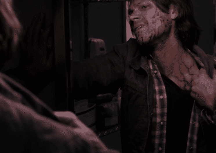 infected sam with the darkness 11x01