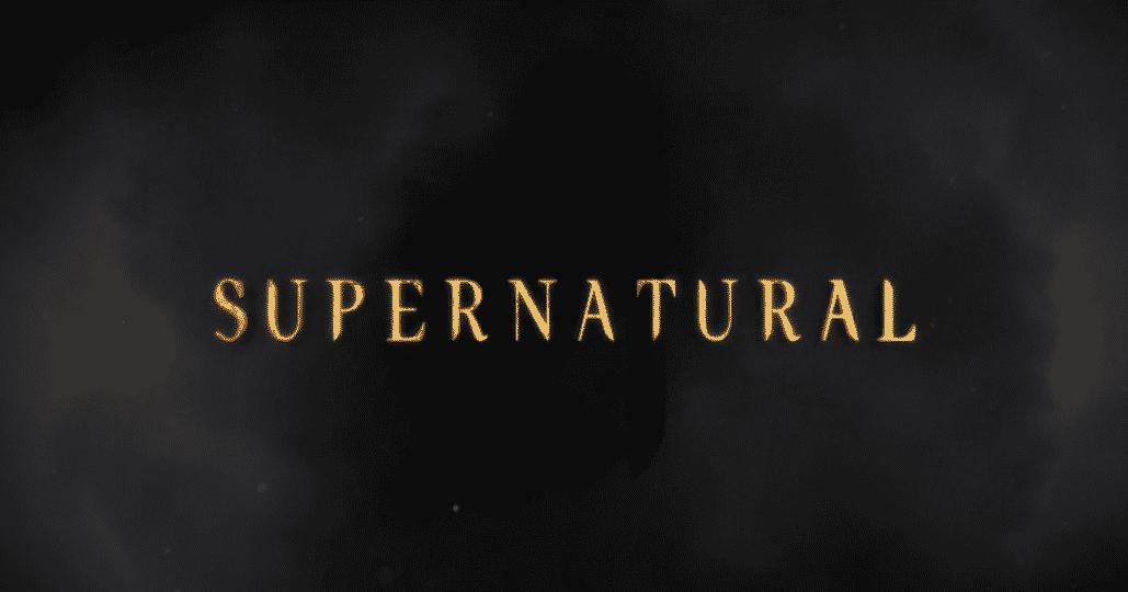 spn supernatural season 11 opening logo