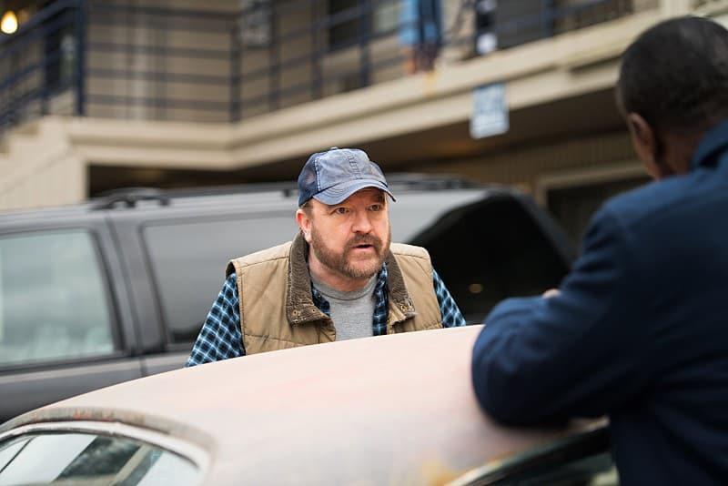 11x16 Safe House Jim Beaver as Bobby Singer Steven Williams as Rufus Turner