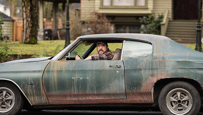 11x16 Safe House Jim Beaver as Bobby Singer car