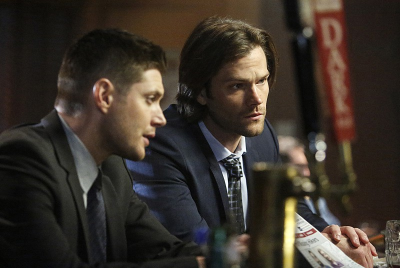11x17 Red Meat Jensen Ackles as Dean and Jared Padalecki as Sam