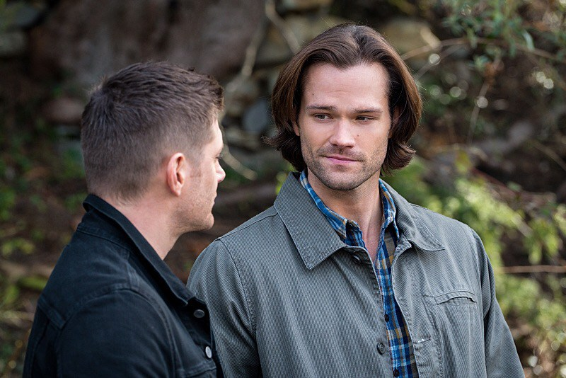 The Chitters 11x19 Jensen Ackles as Dean and Jared Padalecki as Sam