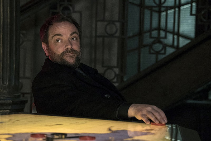 11x23 Alpha and Omega season finale Mark Sheppard as Crowley