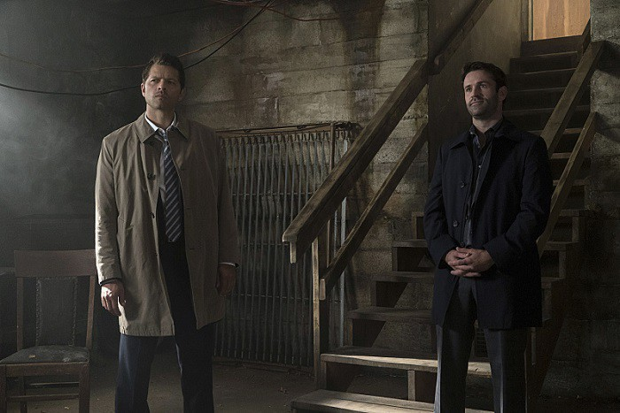 12x02-mamma-mia-misha-collins-as-castiel-and-adam-fergus-as-mick-davies