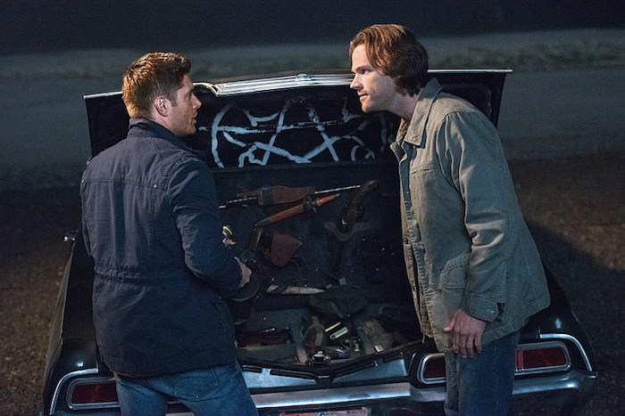 "Supernatural -- ""The One You've Been Waiting For"" -- SN1205a_0494.jpg -- Pictured (L-R): Jensen Ackles as Dean and Jared Padalecki as Sam -- Photo: Dean Buscher/The CW -- © 2016 The CW Network, LLC. All Rights Reserved"
